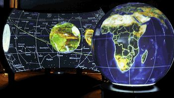 World Viewer's built in Flexible Projection Mapping based on the Perspective Projection Mapping Article