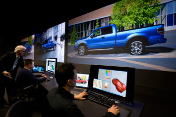 Computer Aided Design of Automotive Color at Ford