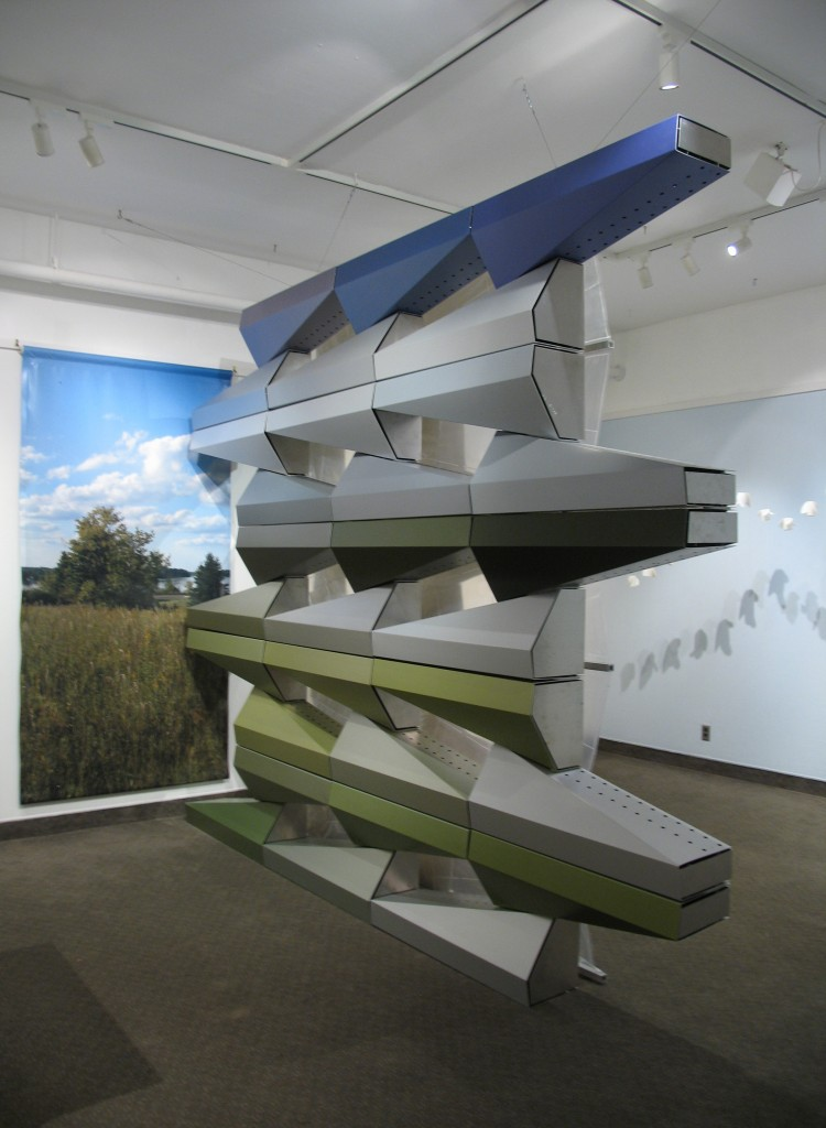 Architectural Exhibit at the Goldstein Museum