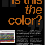 The problem of matching spot colors in Adobe Illustrator