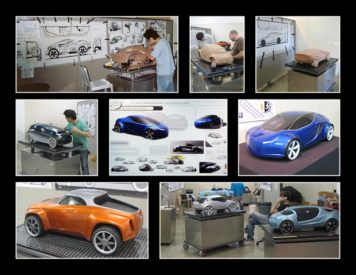 Automotive design course at CCS